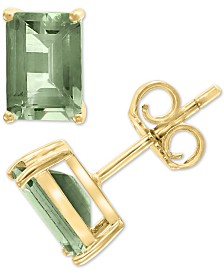 EFFY® Green Quartz (1-9/10 ct. t.w.) Stud Earrings in 14k Gold