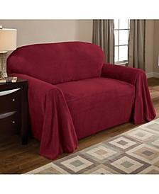 Coral Fleece Throw Sofa Cover