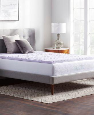 5-Zone Lavender Memory Foam Mattress Topper, Twin XL