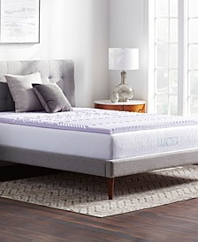 5-Zone Lavender Memory Foam Mattress Topper Collection