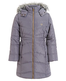 Toddler Girls Aerial Hooded Jacket