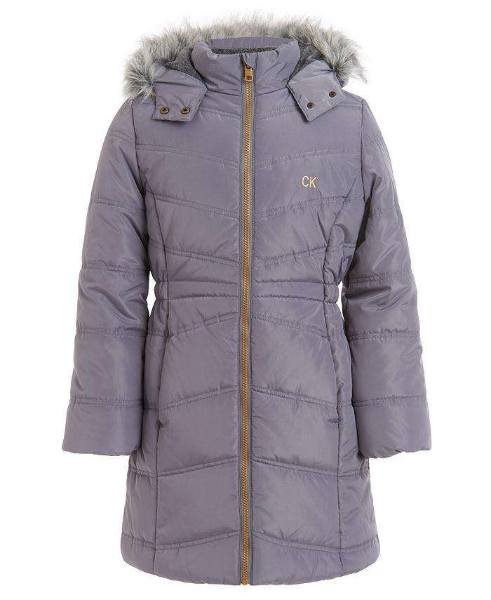Calvin Klein - Little Girls Aerial Hooded Jacket