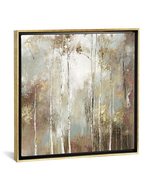 """iCanvas Fine Birch I by Allison Pearce Gallery-Wrapped Canvas Print - 37"""" x 37"""" x 0.75"""""""