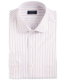 Men's Classic/Regular-Fit Performance Stretch Wrinkle-Resistant Pinstripe Dress Shirt, Created for Macy's