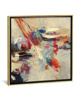 """Positive Energy I by Randy Hibberd Gallery-Wrapped Canvas Print - 37"""" x 37"""" x 0.75"""""""