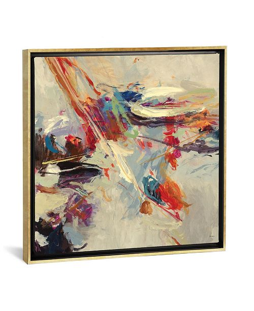 """iCanvas Positive Energy I by Randy Hibberd Gallery-Wrapped Canvas Print - 37"""" x 37"""" x 0.75"""""""