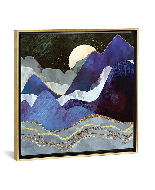 """iCanvas Midnight by Spacefrog Designs Gallery-Wrapped Canvas Print - 26"""" x 26"""" x 0.75"""""""