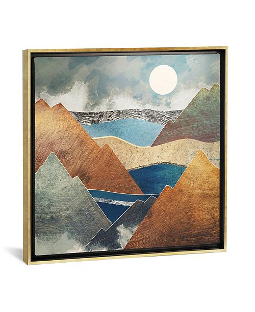 """iCanvas Mountain Pass by Spacefrog Designs Gallery-Wrapped Canvas Print - 26"""" x 26"""" x 0.75"""""""
