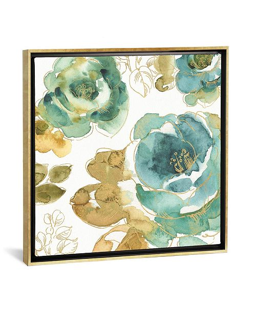 """iCanvas My Greenhouse Roses Iii by Lisa Audit Gallery-Wrapped Canvas Print - 26"""" x 26"""" x 0.75"""""""