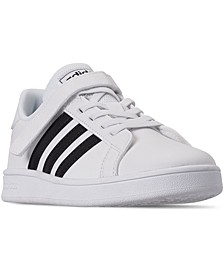 Little Boy's Grand Court Stay-Put Closure Casual Sneakers from Finish Line