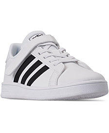adidas Little Kids Grand Court Stay-Put Closure Casual Sneakers from Finish Line