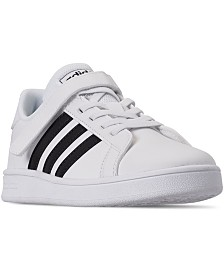 adidas Little Boys Grand Court Stay-Put Closure Casual Sneakers from Finish Line