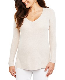 Maternity V-Neck Sweater