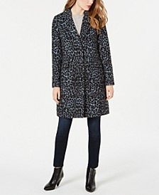 Leopard-Print Walker Coat