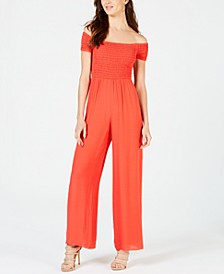 Lily Off-The-Shoulder Jumpsuit
