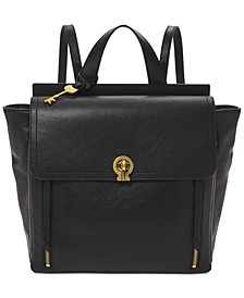 Amelia Leather Convertible Backpack