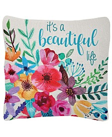 "Karma Gifts 18"" x 18"" Square Pillow"