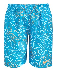 Nike Little Boys Hyper Breaker 6 Volley Printed Swim Trunks