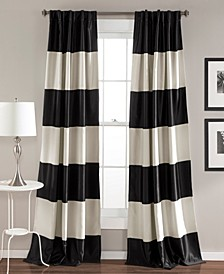 "Montego Stripe 52"" x 84"" Curtain Set"