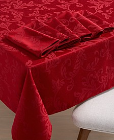 Winter Scroll Table Linen Collection, Created for Macy's