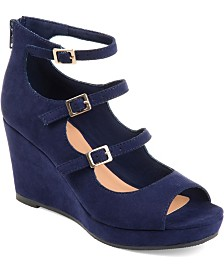 Journee Collection Women's Skyla Wedges