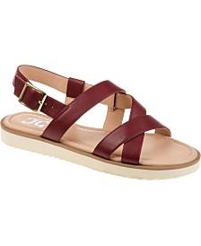 Journee Collection Women's Comfort Aiden Sandals