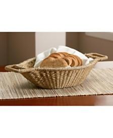 "St. Croix KINDWER 18"" Jute Wrapped Oval Basket"