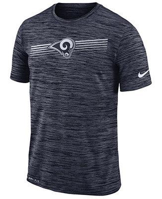 Nike Men's Los Angeles Rams Legend Velocity T Shirt & Reviews Sports Fan Shop By Lids Men Macy's