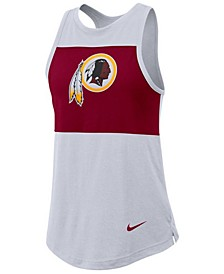 Women's Washington Redskins Racerback Colorblock Tank
