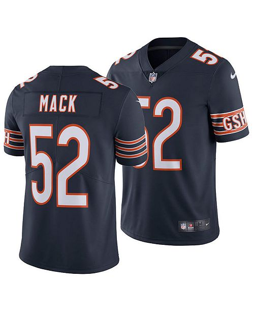 competitive price 2bef9 6bd05 Men's Khalil Mack Chicago Bears Vapor Untouchable Limited Jersey
