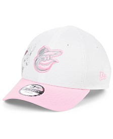 New Era Toddlers & Little Girls Baltimore Orioles Minnie Heart 9FORTY Adjustable Cap
