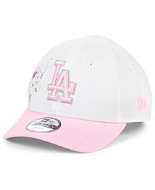 Toddlers & Little Girls Los Angeles Dodgers Minnie Heart 9FORTY Adjustable Cap