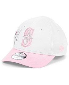 New Era Toddlers & Little Girls Seattle Mariners Minnie Heart 9FORTY Adjustable Cap