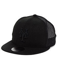 New Era New York Mets Blackout Meshback 59FIFTY-FITTED Cap