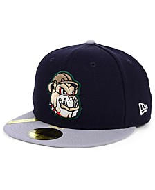 Mahoning Valley Scrappers MiLB 100TH Anniversary Patch 59FIFTY-FITTED Cap