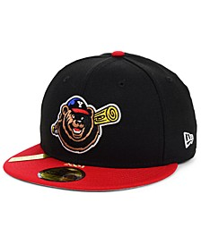 Yakima Bears MiLB 100TH Anniversary Patch 59FIFTY-FITTED Cap
