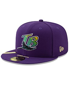 New Era Tampa Bay Rays Timeline Collection 59FIFTY-FITTED Cap