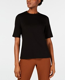 Eileen Fisher Crewneck T-Shirt, Regular & Petite