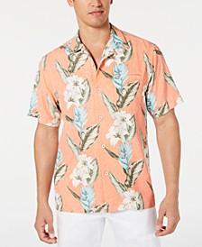 Men's Palmdale Vines IslandZone Floral-Print Camp Collar Shirt
