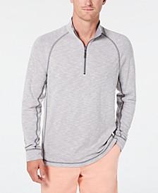 Men's Barrier Beach Reversible Quarter-Zip Thermal Sweatshirt