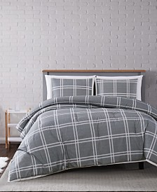 Truly Soft Leon Plaid Twin XL Comforter Set