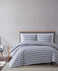 Maddow Stripe Twin XL Duvet Set