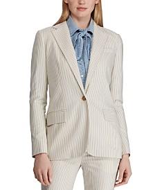 Lauren Ralph Lauren Petite Pinstripe Blazer
