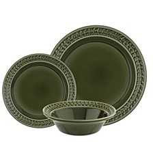 Botanic Garden Harmony 12 Piece Dinnerware Set, Service for 4