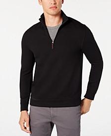 Men's 1/4-Zip Sweater, Created for Macy's