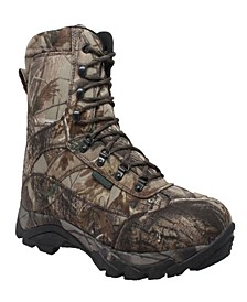 "Men's 10"" Water Resistant Realtree 800G Camo Boot"