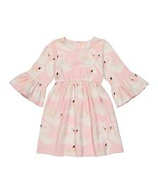 Masala Baby Kids Organic Simple Dress Swan Song