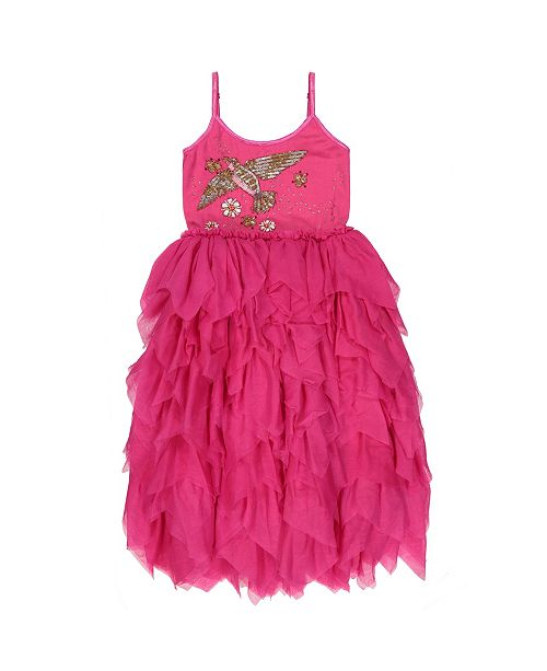 Masala Baby Kids Birds and Bees Tulle Dress