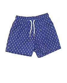 Bermies Kids Anchor Swim-Trunks