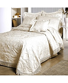 Antique Medallion Bedspread, Twin